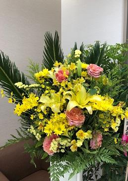 内覧会のお花2