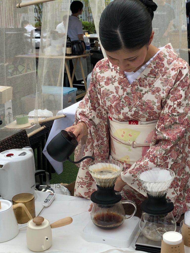 コーヒーフェスティバル2019静岡セキネユカさん